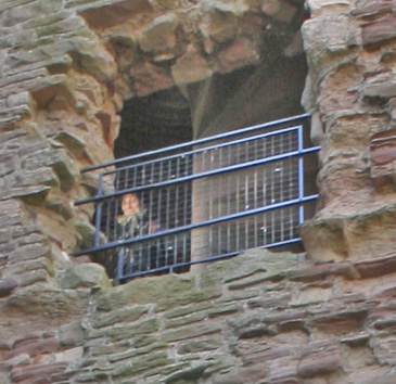 The Tantallon Castle ghost picture