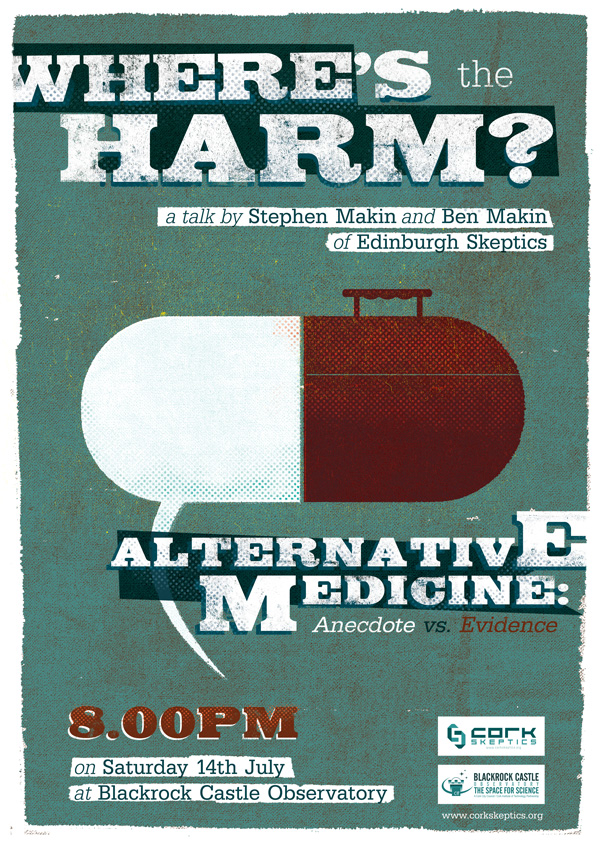 Alternative Medicine: Sat 14th July ay Blackrock Castle Observatory