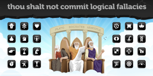 Click on the link to go to the Logical Fallacies website